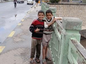 Boys in Sana'a