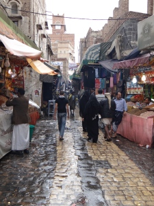 Street in Sana'a. May 2013