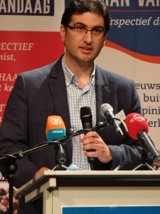 Zaman Vandaag editor-in-chief  Mehmet Cerit